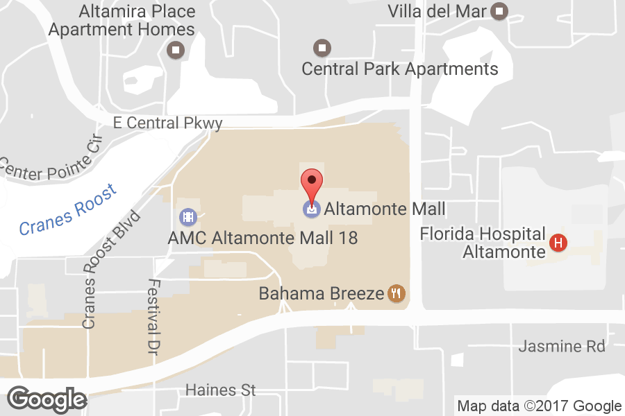Map of Altamonte Mall - Click to view in Google Maps